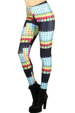 Periodic Table Leggings