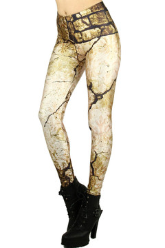 Cracked Stone Leggings