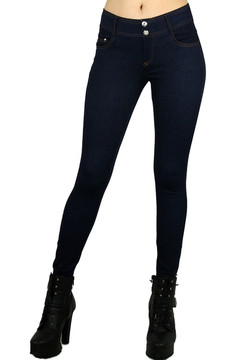 City Walk Cotton Denim Jeggings