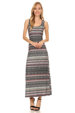 Resort Ready Tribal Maxi Dress
