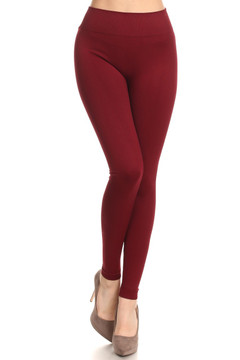 Extra Thick Basic Seamless Leggings
