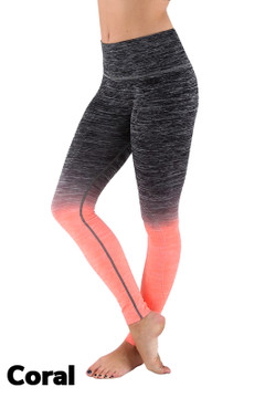 Ombre Fusion Workout Plus Size Leggings