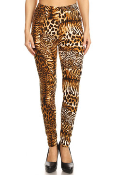 Wild Jungle Cat Leggings