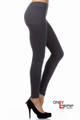 Charcoal Seamless Sweater Leggings