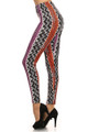 Sassy Vertical Tribal Leggings
