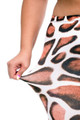Giraffe Print Leggings - Plus Size