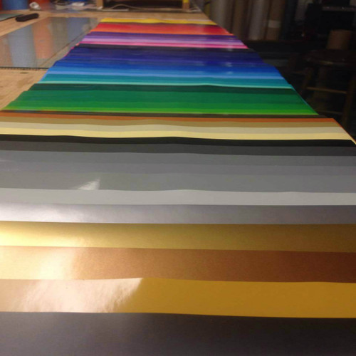 "Oracal 651 - All Color Bundle - 63 Colors - 12"" x 12"" sheets"