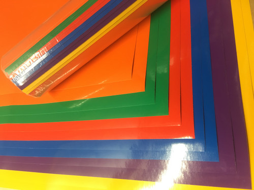 Rainbow Color Pack - Oracal 651 Adhesive Vinyl (12 Sheets)