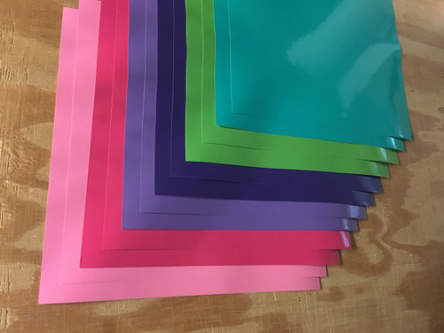 Girls Color  Pack Oracal 651 -12 sheets