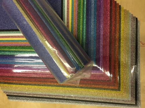 Siser Glitter Htv All Color Pack All 39 Colors 12 Quot X 20