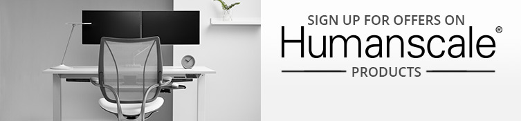 Save big on Humanscale at Human Solution!