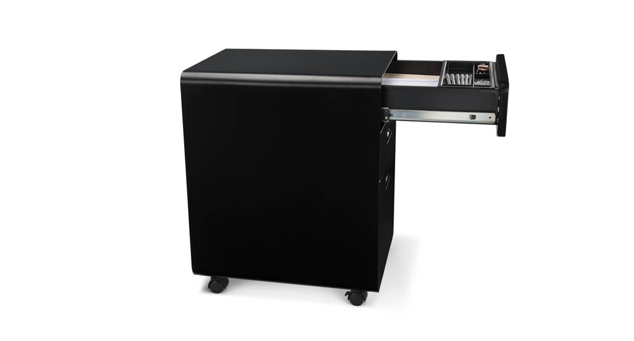 A Soft Close Function On The Top Drawer Eliminates Drawer Slamming. The 3 Drawer  File Cabinet ...