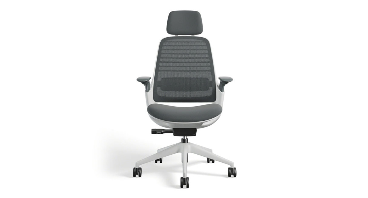 Add a headrest to your Series 1 Task Chair (shown here)  sc 1 st  The Human Solution & Steelcase Series 1 Task Chair | Human Solution