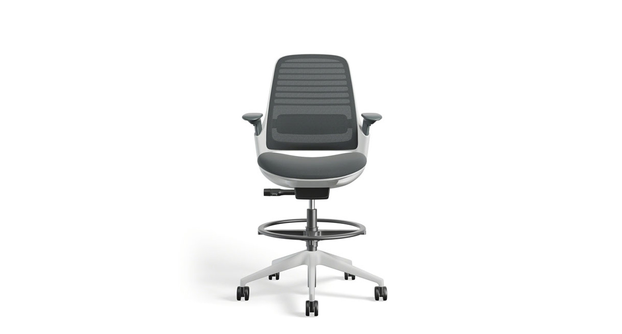 Steelcase Series 1 Drafting Stool Human Solution