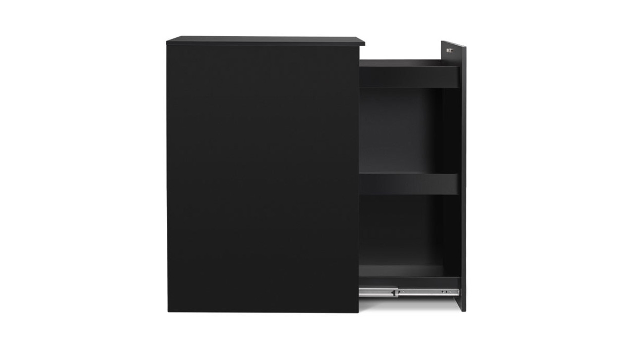 office storage solution. The Slide Out Office Storage Cabinet Provides You With A Secure Solution