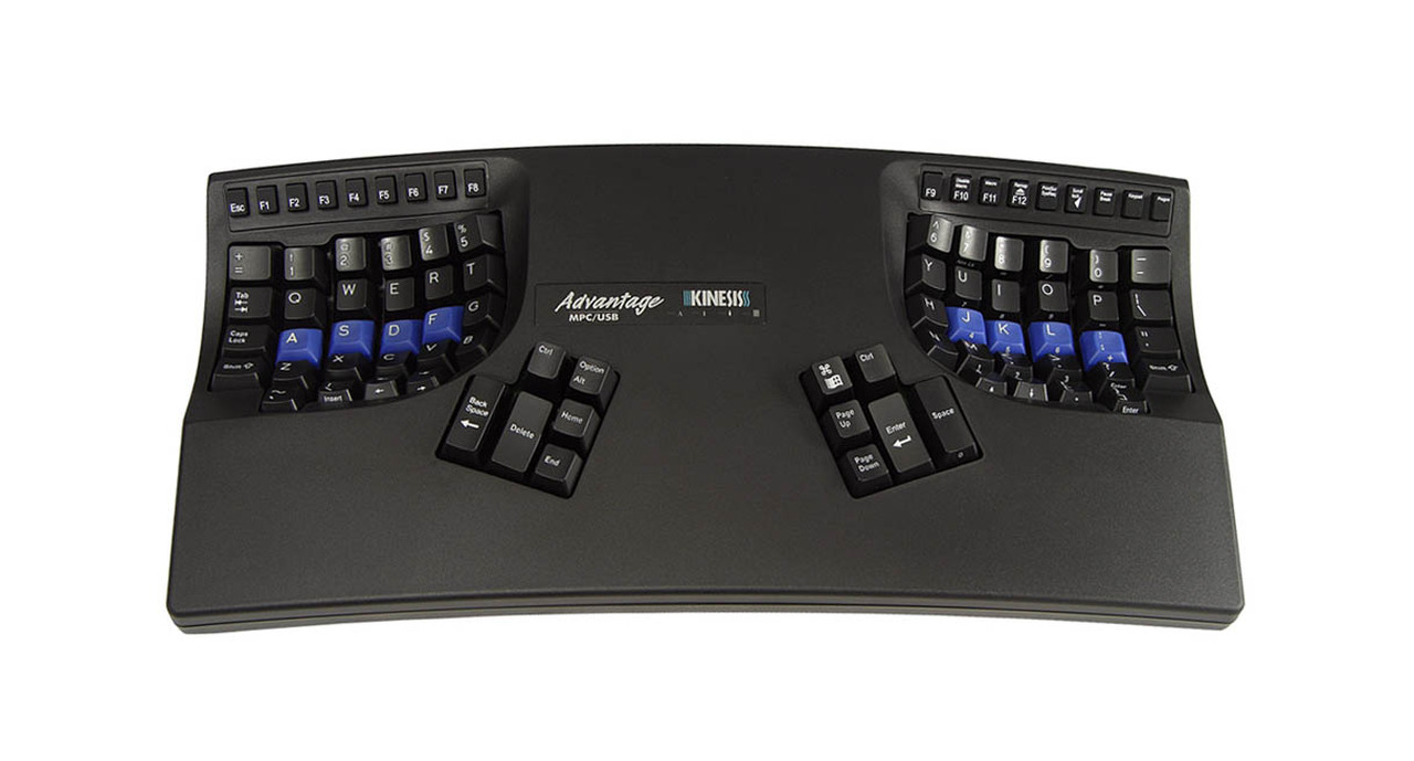 Kinesis Advantage2 Lf Contoured Linear Feel Usb Keyboard