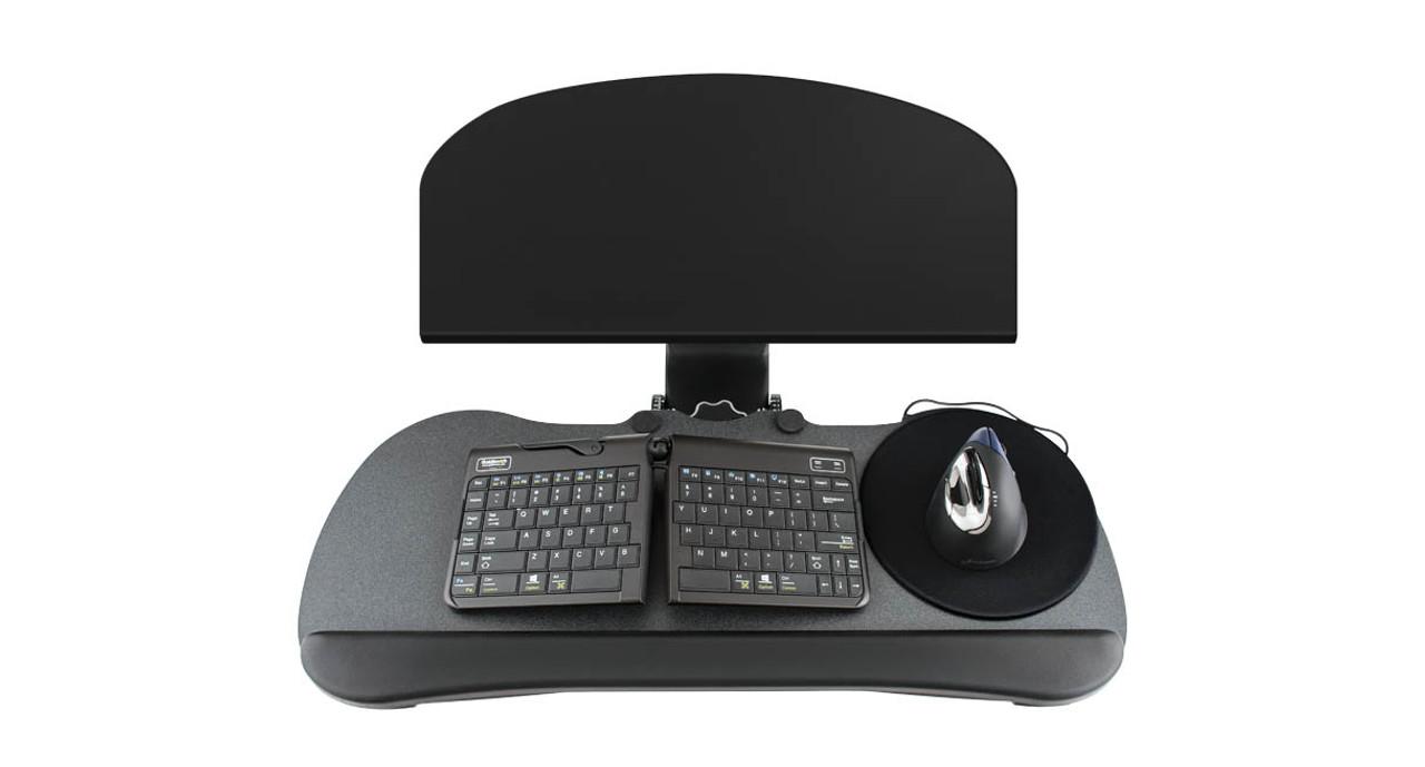 Uplift Keyboard Tray Kit For Corner L Shaped Desk Human