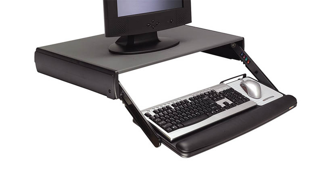 Keyboard Can Be Lowered As Much As   Below Desktop Level