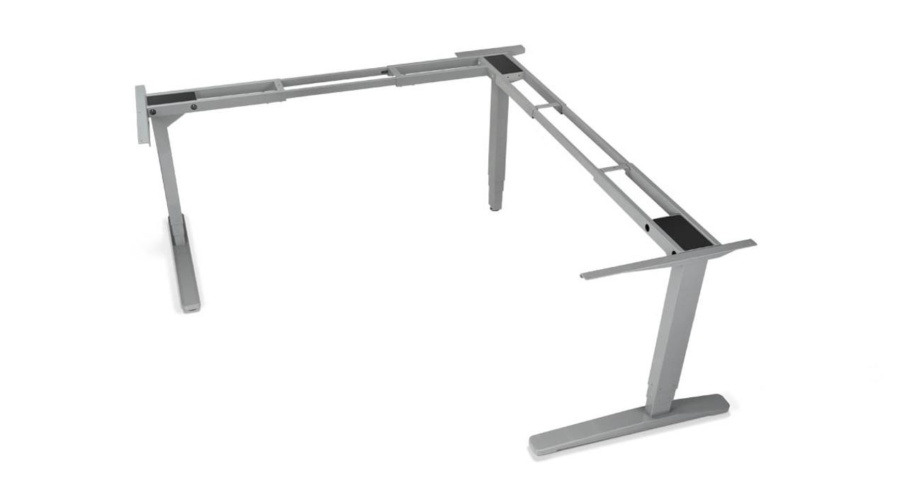 With The UPLIFT 950 3 Leg Height Adjustable Standing Desk Base, Youu0027