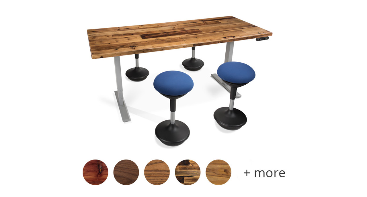 Shop UPLIFT Woodland Standing Conference Tables - 30 conference table