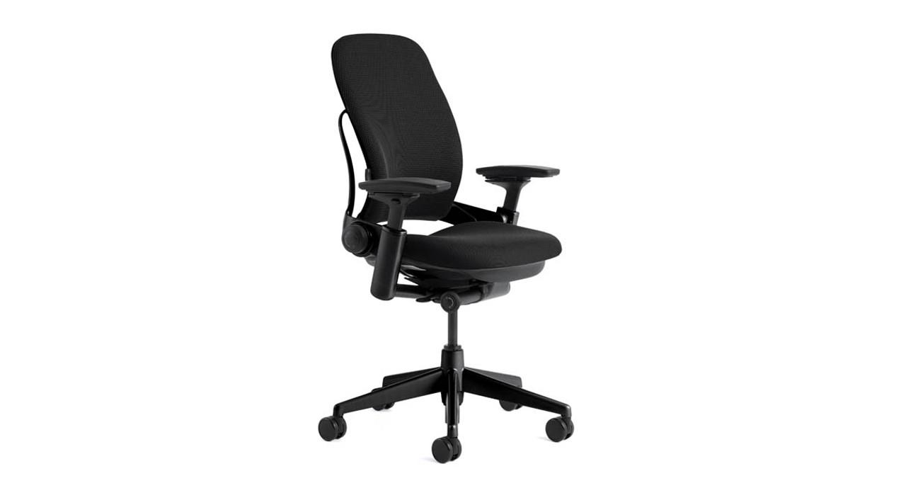 Reactive LiveBack Technology Contoured Chair Back Flexes As You Move