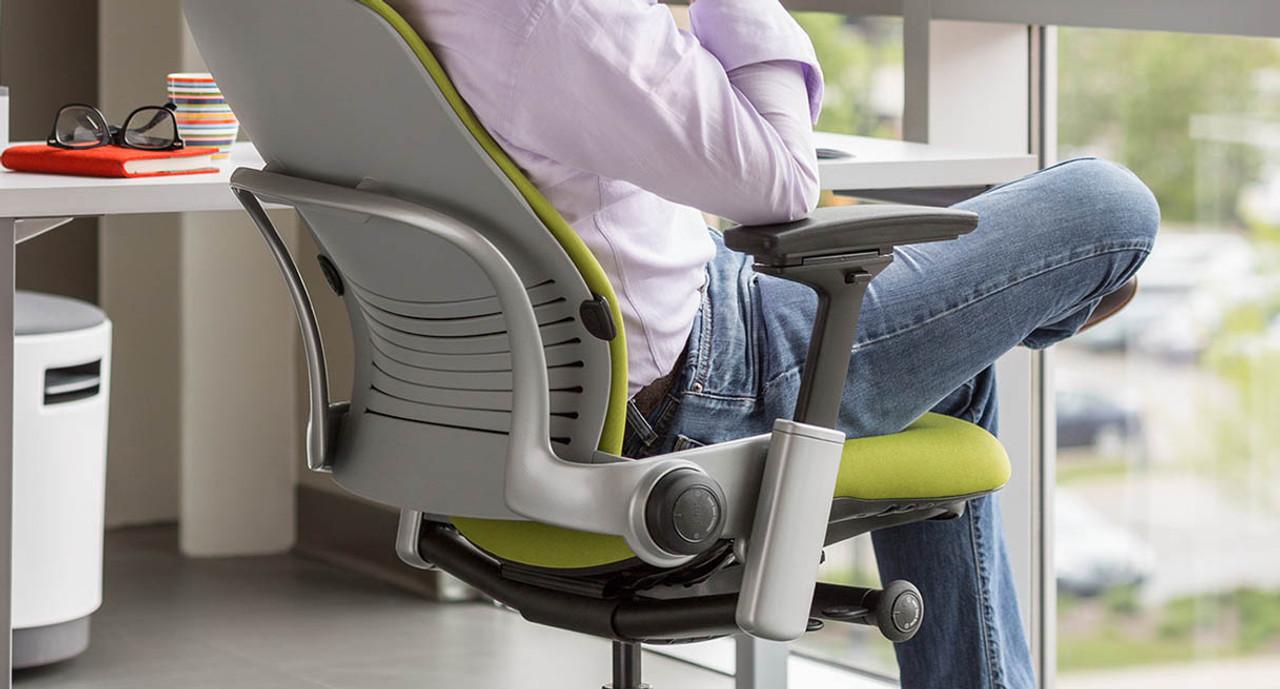 steelcase leap ergonomic office chair shop human solution