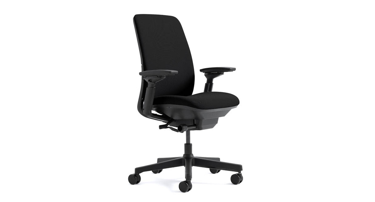 Merveilleux Back Tension On The Steelcase Amia Chair Is Simple To Adjust   Move From  Upright To