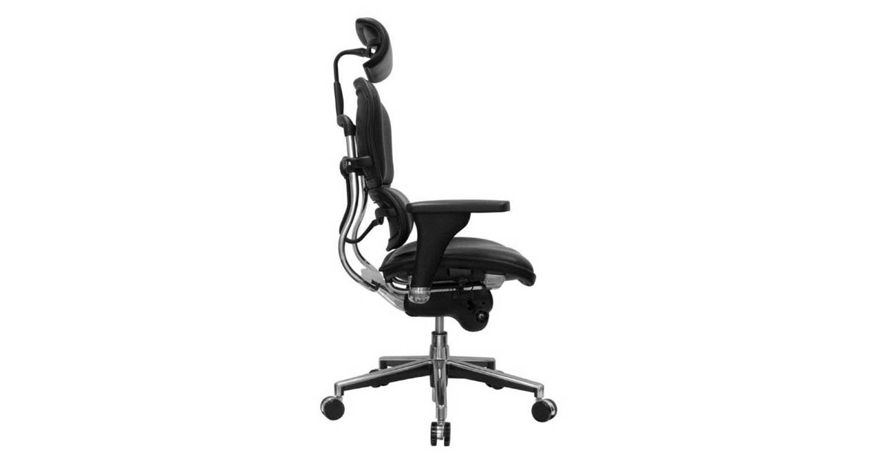 Shop Raynor Ergohuman Chairs Leather With Headrest Le9erg