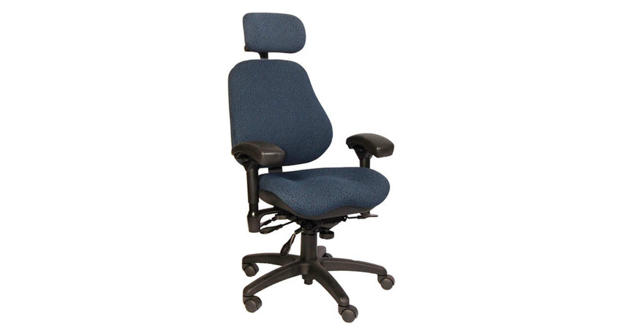 Black non-upholstered arm pads are 4  wide  sc 1 st  The Human Solution & Shop BodyBilt 3507 High Back Executive Chairs with Headrest