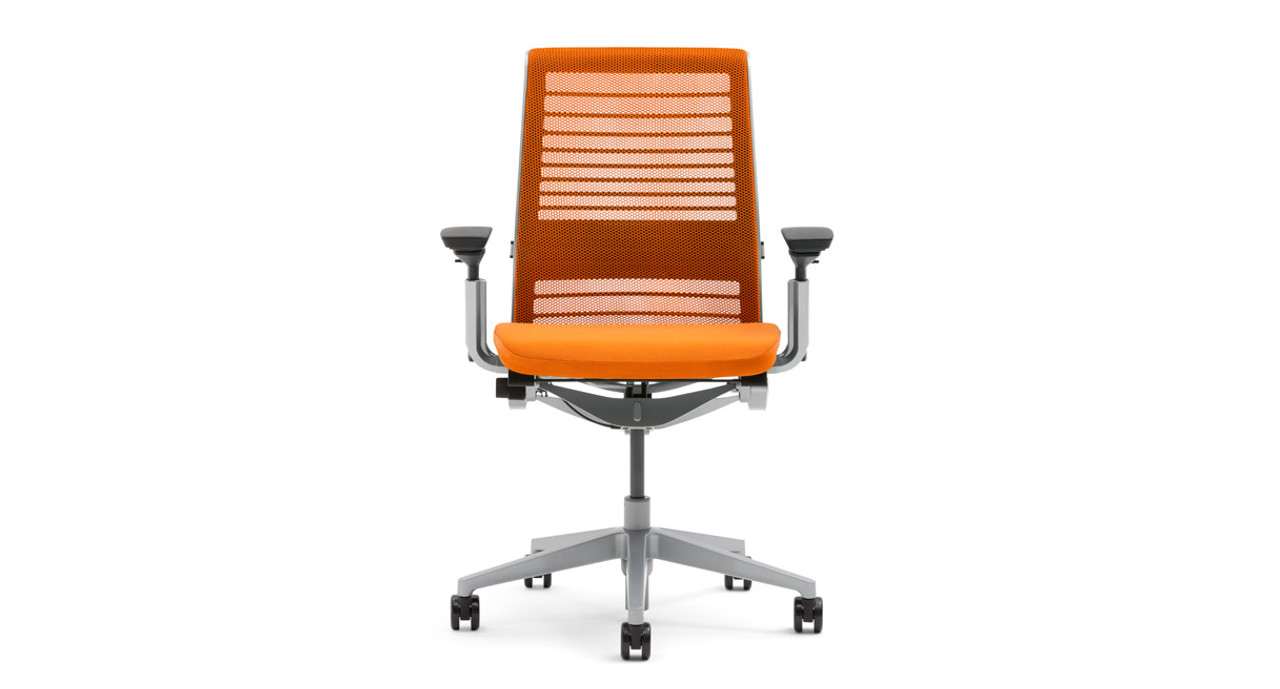 white office chair ikea qewbg. Steelcase Think Office Chair. The Chair With 3d Knit Back Comes In A White Ikea Qewbg