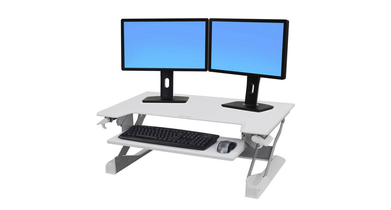 Workfit Tl Sit Stand Desktop Workstation Shop Ergotron