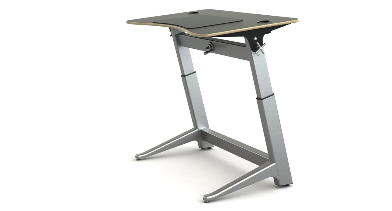 Desk Is Designed By Martin Keen And Constructed Of Aluminum, Steel, And  Furniture