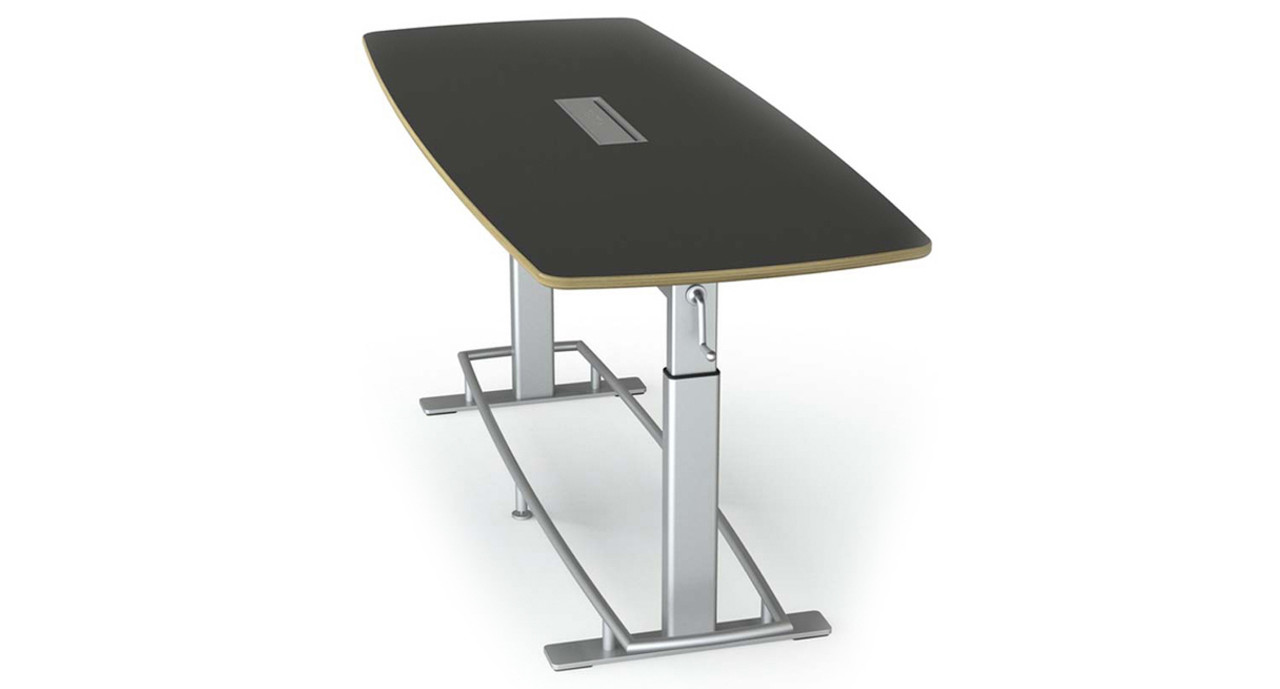 Focal Confluence Standing Height Table The Human Solution - Standing height conference table