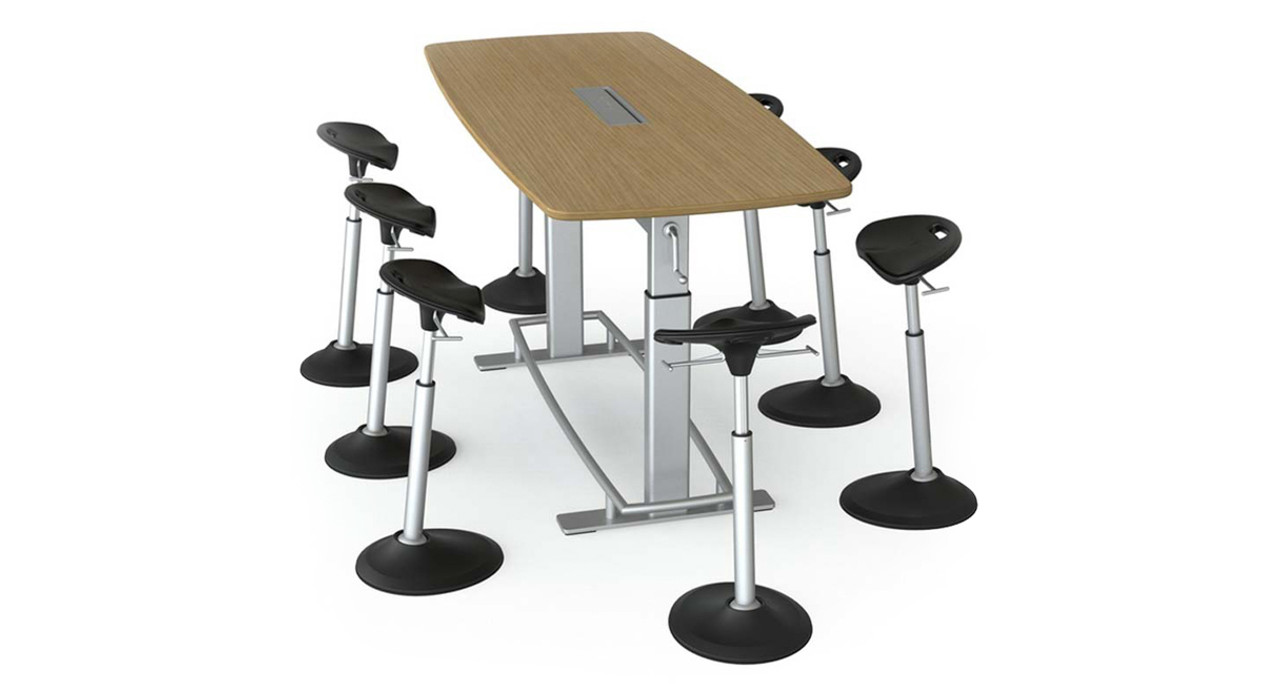 Focal Confluence Standing Height Table The Human Solution - Standing height meeting table