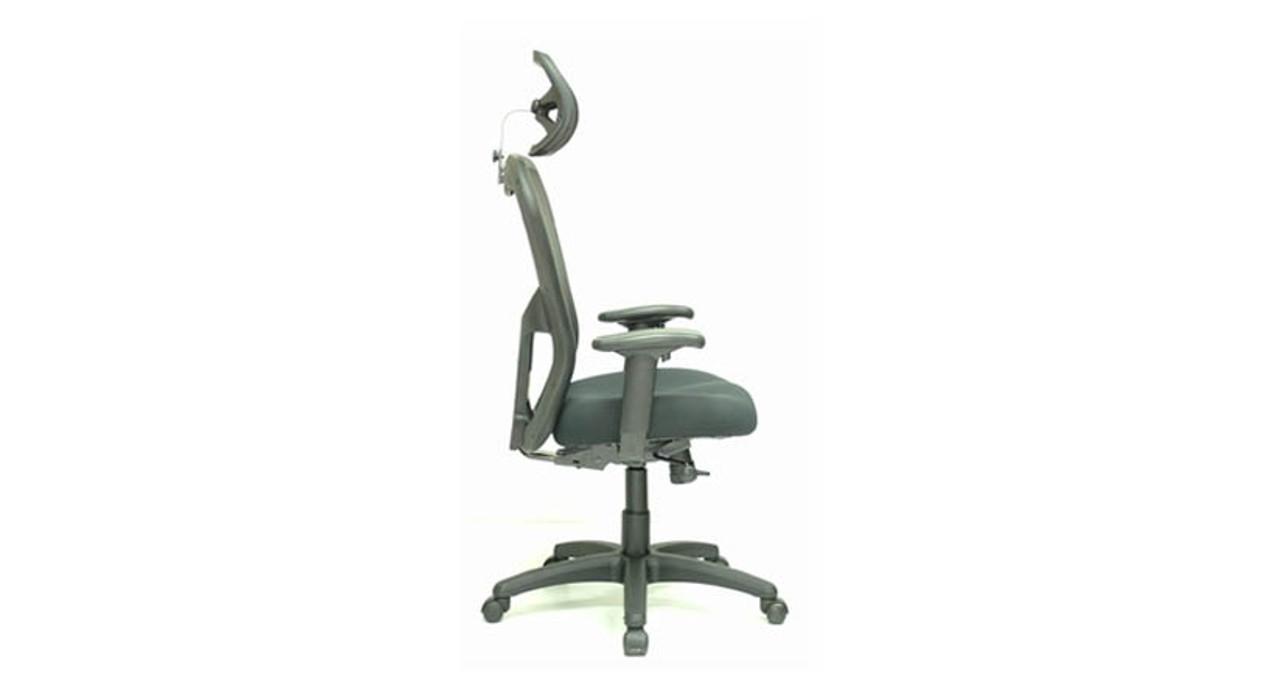 eurotech apollo mm9500 mesh high back chair w optional headrest