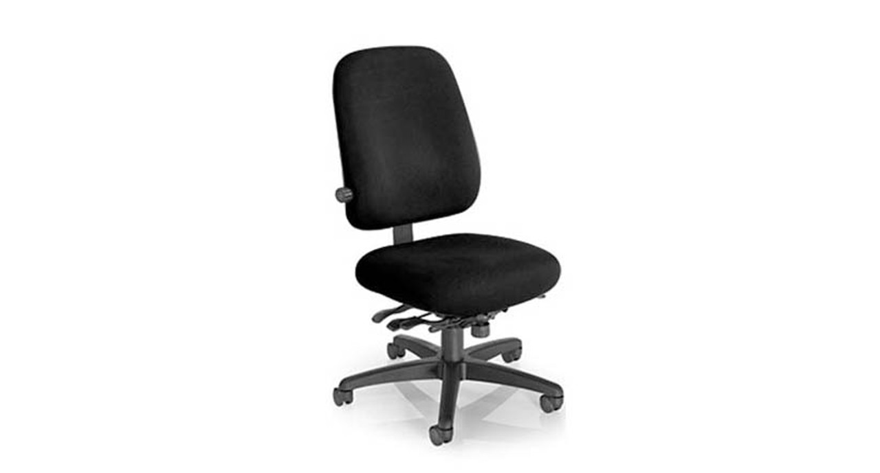 Beau Mild Saddle Contoured Seat Cushion On The Office Master Paramount Value  PT78 Chair
