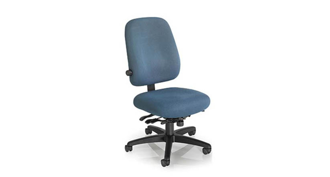 Gentil Contoured Lumbar Zone Keeps You Sitting In Comfort