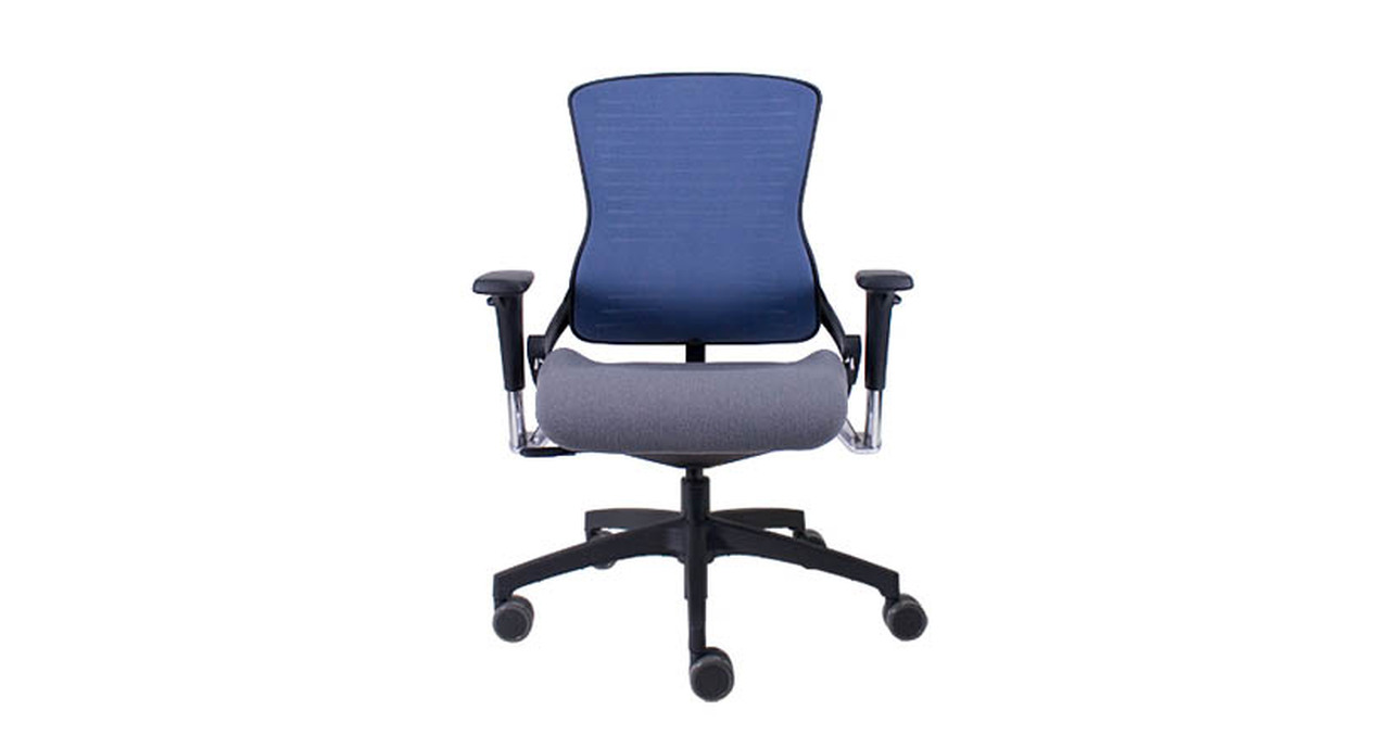 The Office Master Ergonomic OM5 Task Chairu0027s flexible back resistance responds to useru0027s body positions  sc 1 st  The Human Solution & Office Master Ergonomic OM5 Task Chair | Shop Office Master Chairs