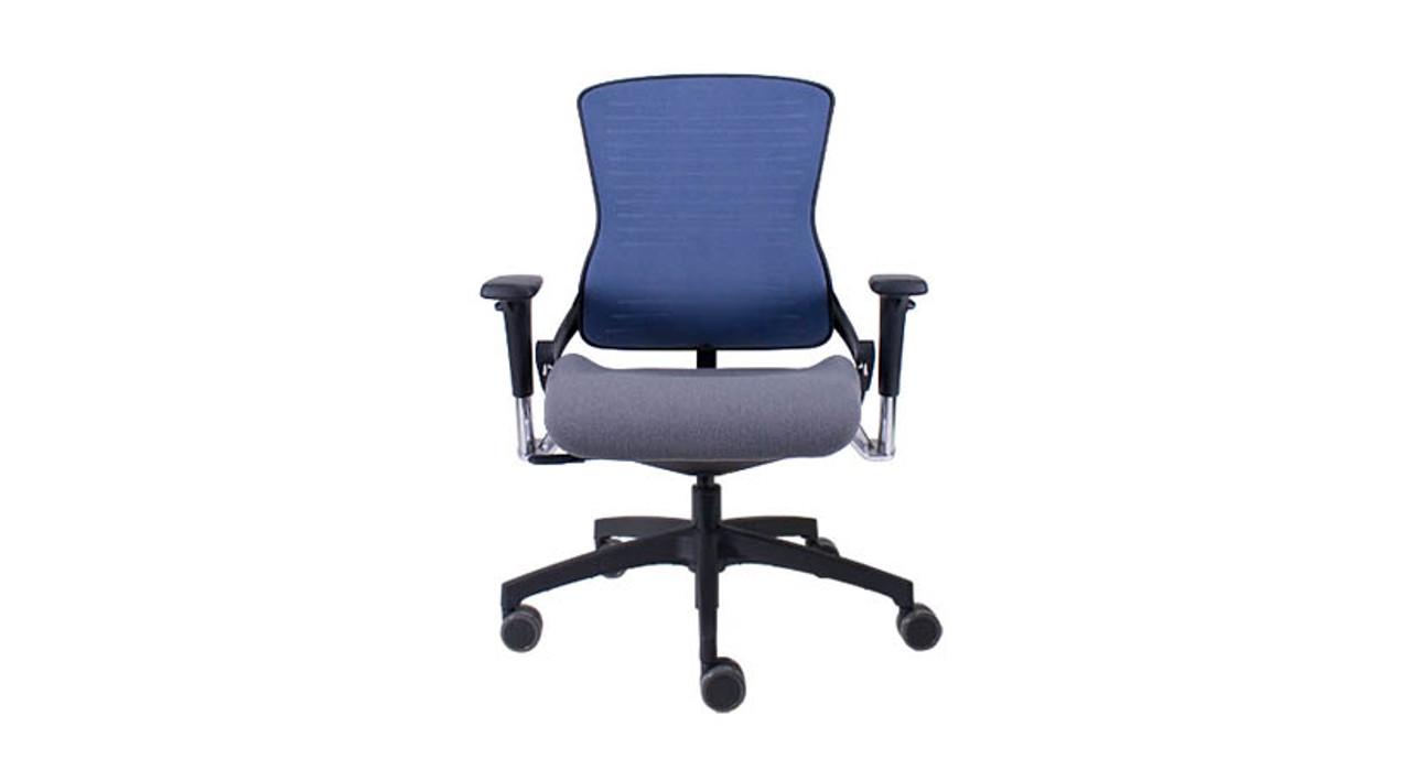 Bon The Office Master Ergonomic OM5 Task Chairu0027s Flexible Back Resistance  Responds To Useru0027s Body Positions