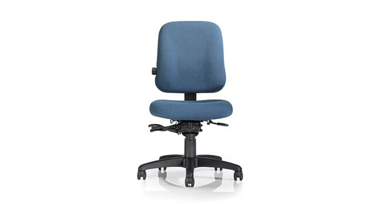 Mild saddle-contoured seat cushion  sc 1 st  The Human Solution & Office Master Paramount Value PT74 Chair | Shop Office Master Chairs