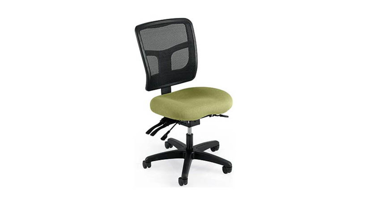Featuring A Mild Saddle Contoured Seat Cushion