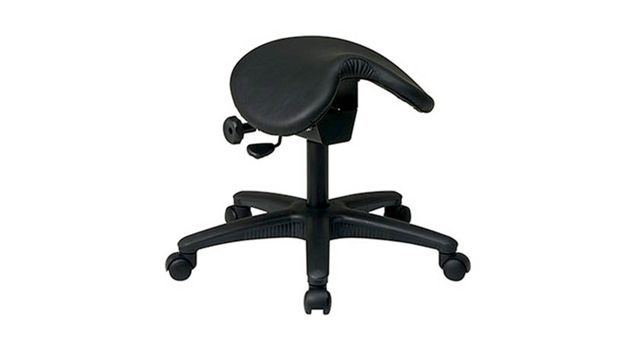 saddle office chair. Thick Padded Seat Saddle Office Chair E
