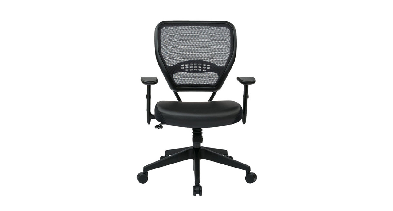 Thickly Padded Contoured Seat And Air Grid Back