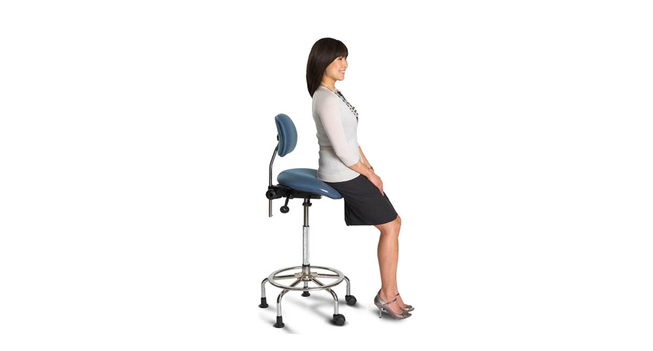 Single Lever Seat And Back Angle Adjustment Make The ErgoCentric 3 In 1 Sit