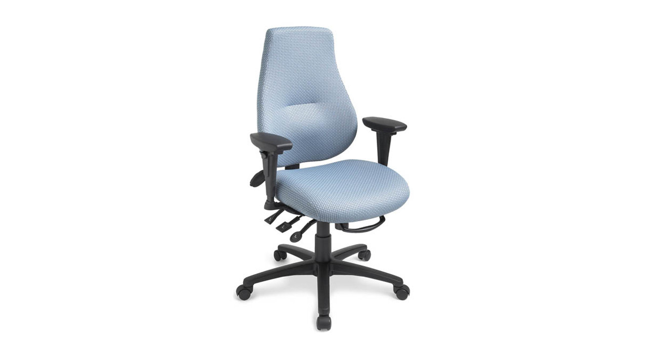 ergonomic office chairs. Multi-tilt Mechanism Delivers Infinite Lock Free Float, Back Angle Adjustment, Forward Ergonomic Office Chairs