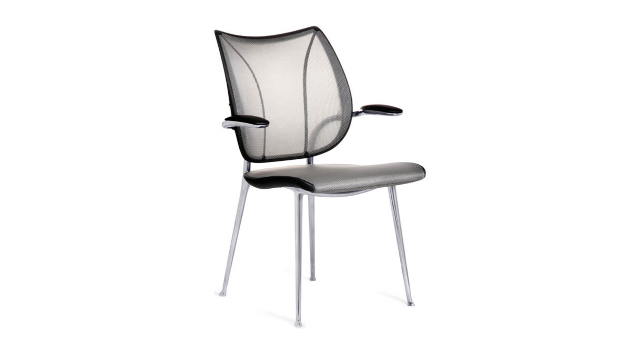 Form-Sensing Mesh Technology which features three panels of non-stretch mesh that are  sc 1 st  The Human Solution & Humanscale Liberty Side Chair