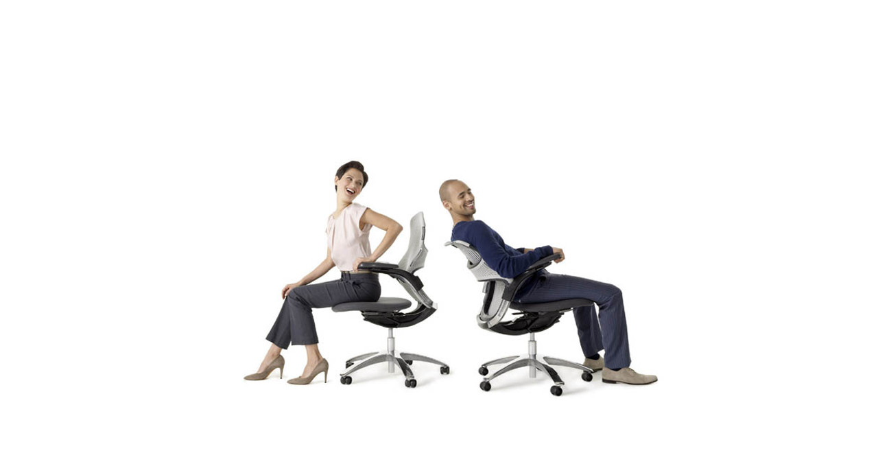 Shaped to provide excellent back support and promote healthy postures all day  sc 1 st  The Human Solution & Knoll Generation Chair | Shop Knoll Office Chairs