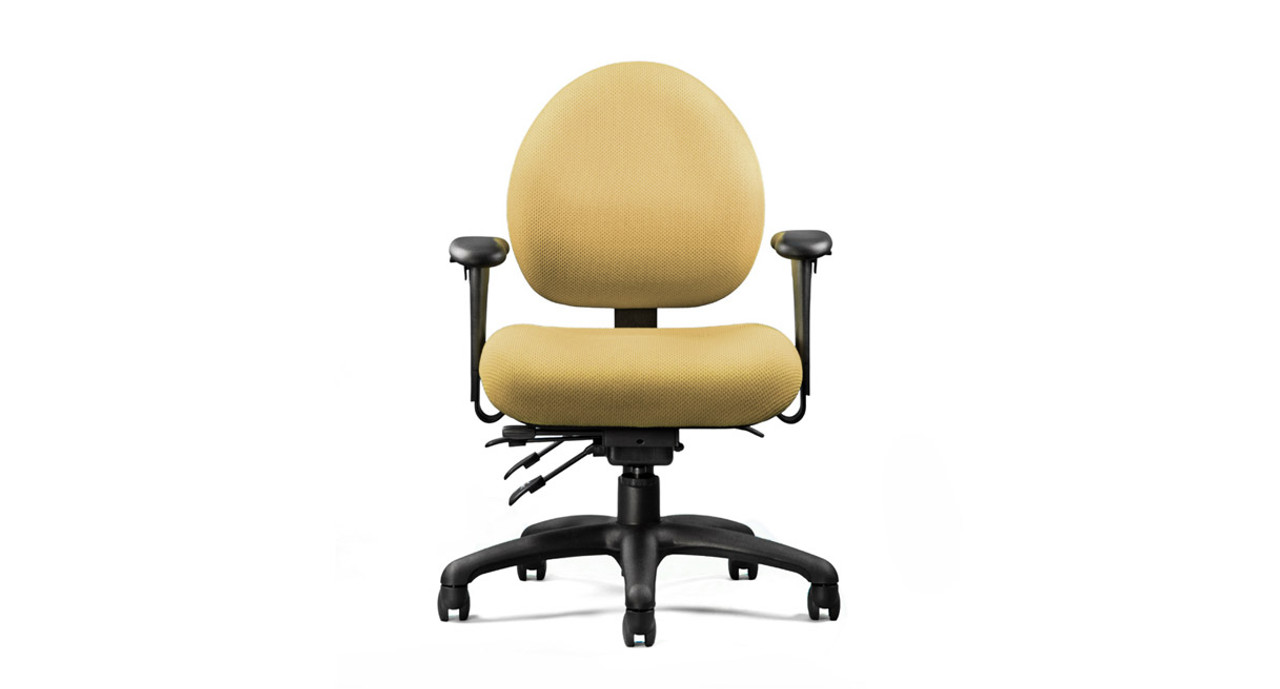 Adjustable seat height depth and tension  sc 1 st  The Human Solution & Neutral Posture XSM Series Petite Ergonomic Chair