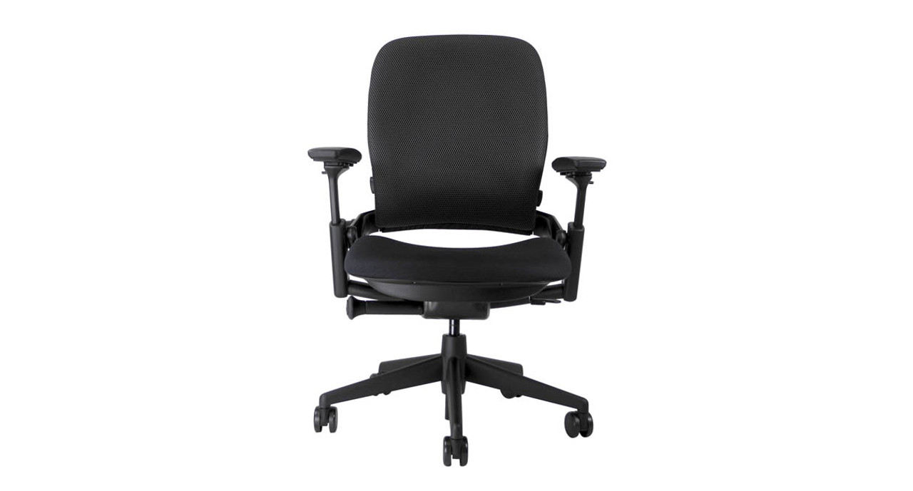 Responsive LiveBack technology lets the chair back flex as you move to provide constant back support  sc 1 st  The Human Solution & Shop Steelcase Leap Chairs with 3D Knit Mesh Back