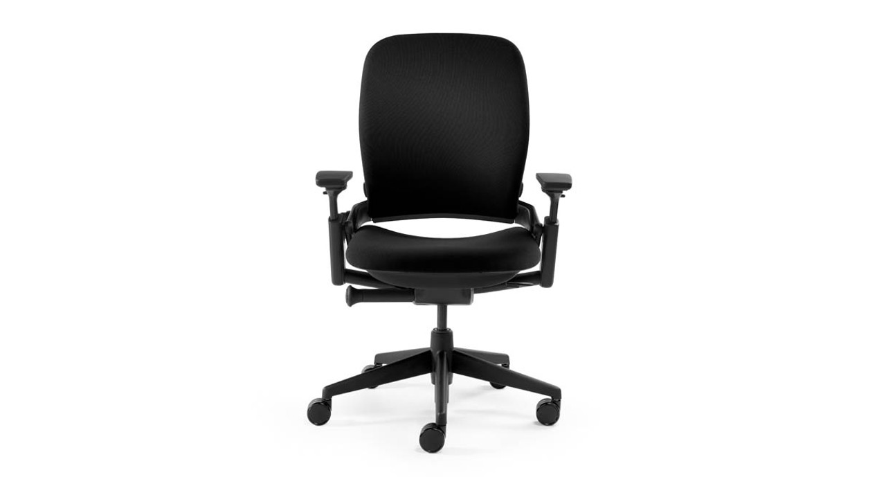 Responsive LiveBack Technology Lets The Padded, Contoured Chair Back Flex  With Your Spine As You
